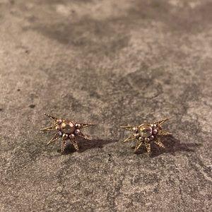 ModCloth Starburst Earrings, Like New